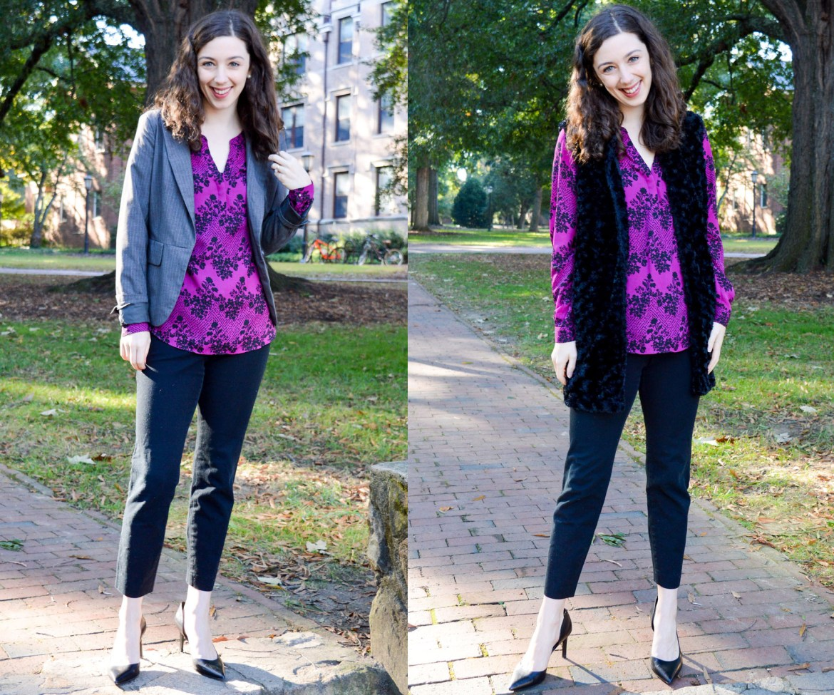 One swap - two looks | Easy work outfit ideas