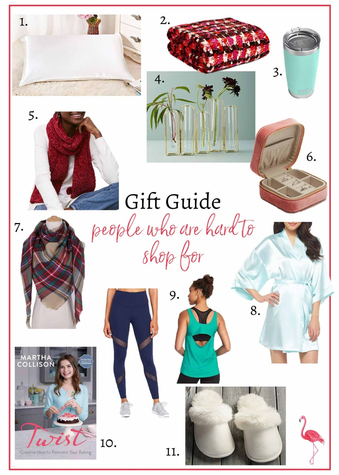 Gift Guide // People Who Are Hard to Shop For // Hunting for Pink Flamingos