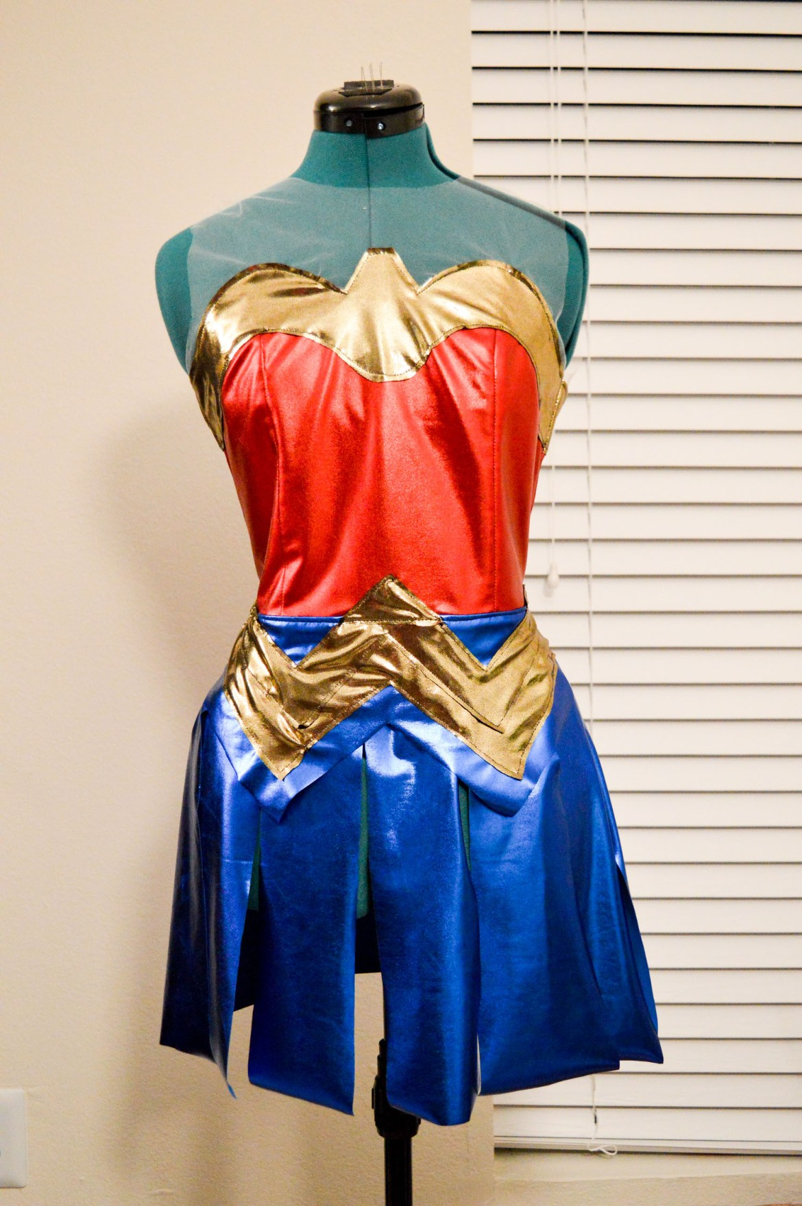 How I Made a Wonder Woman Costume