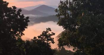 View from vacation rental in the Great Smokey Mountains, Tn.
