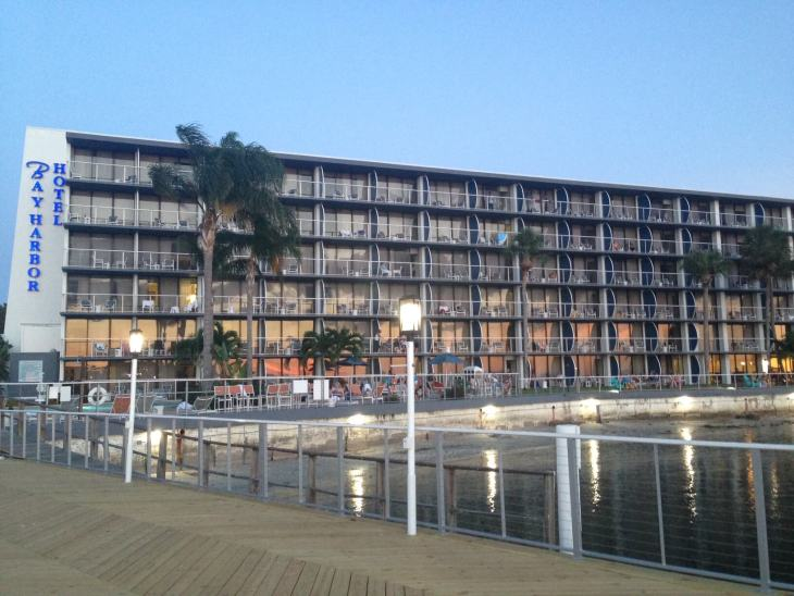 Bay Harbor Hotel on Tampa Bay, Florida.