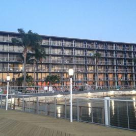 Bay Harbor Hotel on Tampa Bay, Florida.