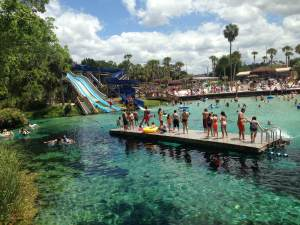 What to do in Tampa with Kids? Play in a natural spring water park...and much more. www.huntingforrubies.com