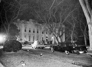 Ambulance at the White House