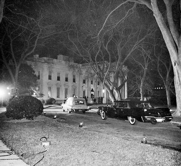 Ambulance at the White House