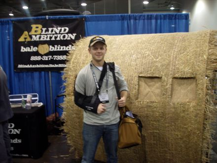 Blind Ambition Bale Blind Hunting And Conservation News