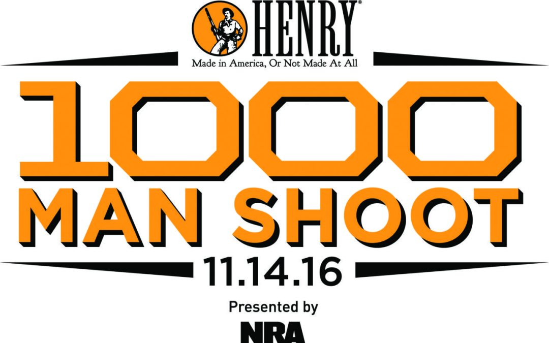 THE HENRY 1000 MAN SHOOT TO BENEFIT THE NRA