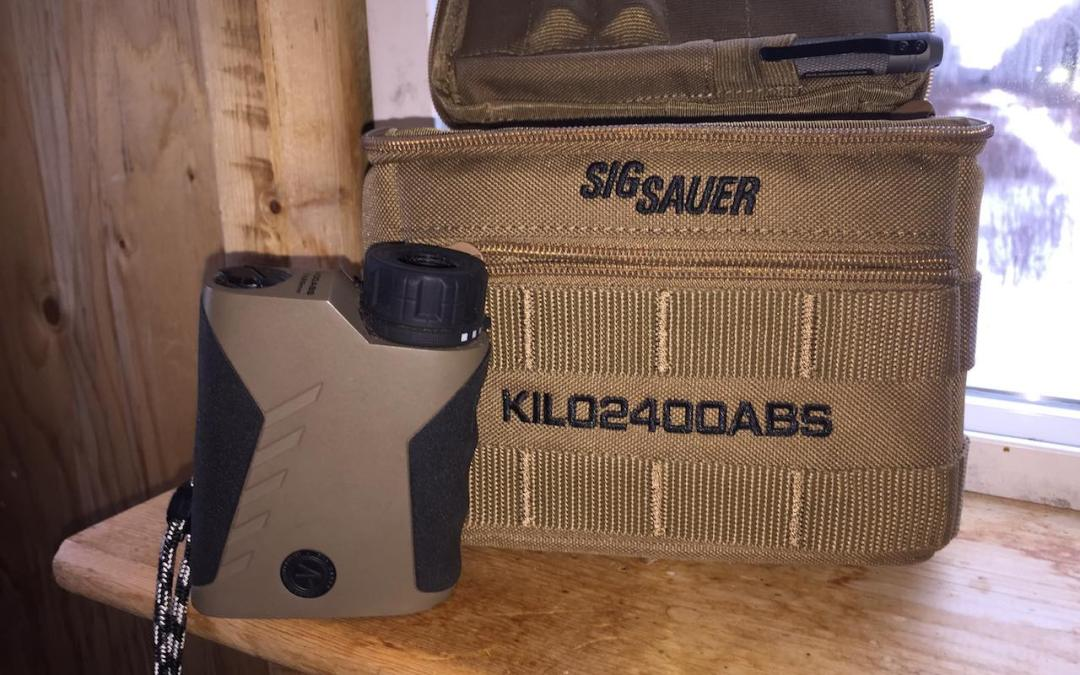The Sig Sauer KILO2400ABS Rangefinder Review