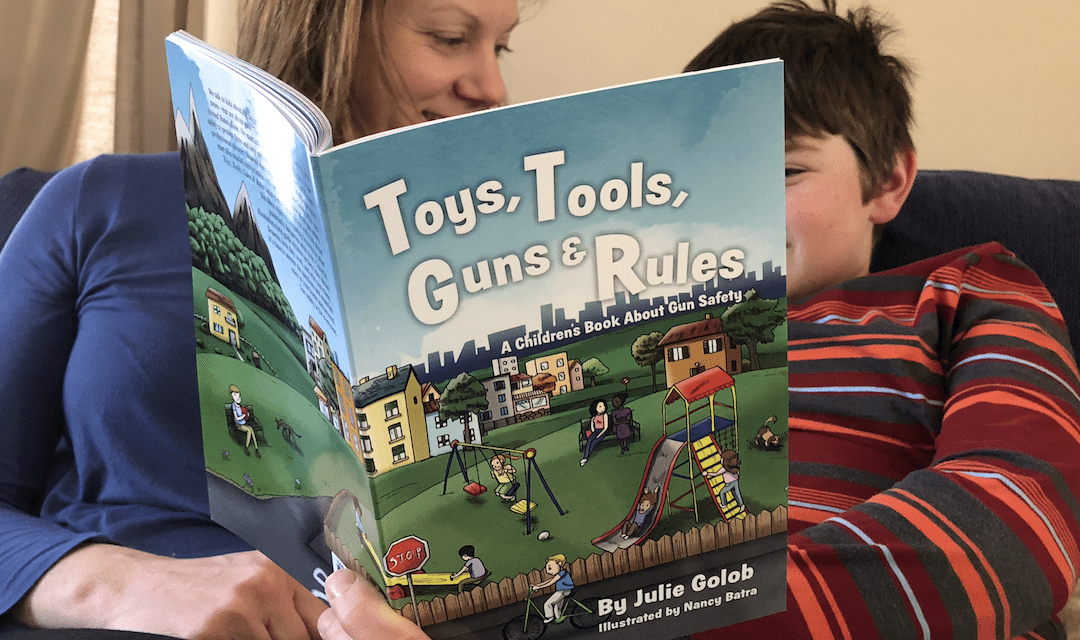 Review of Julie Golob's children's book: Toys, Tools, Guns & Rules