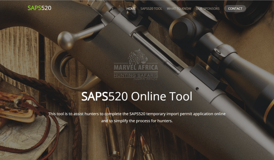 Warning About New South Africa Firearm Importation Regs for Hunters