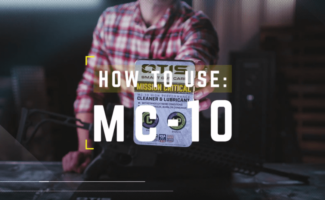How to Use Otis MC-10 Lubricant and Cleaner