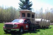 FTB Mfg Dealer, Working Load Quantity, Fully Assembled hunting Blinds w/Bases, 360° Shooting View, Deer Corn, Redneck Hunters, Minnesota Hunters, Minnesota Deer Stands, Portable Deer Stands, Adjustable Heights