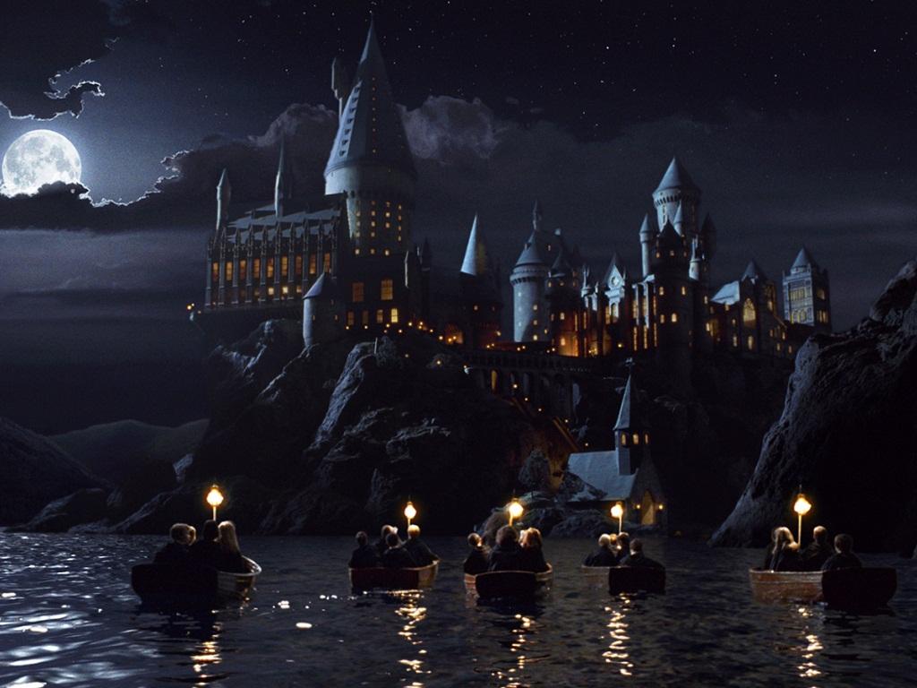 Hogwart's Castle at Night