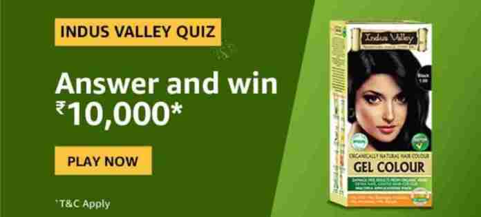 Indus Valley Quiz