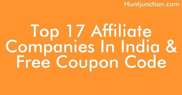 Top 17 Affiliate Companies