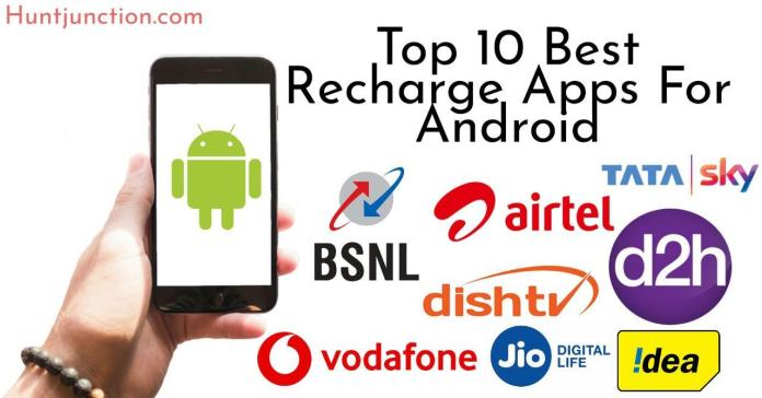 Top 10 best recharge apps for android