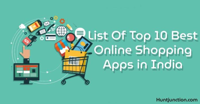 List of top 10 best online shopping apps and Website in India- 2020