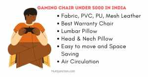 Gaming chair under 5000 In India