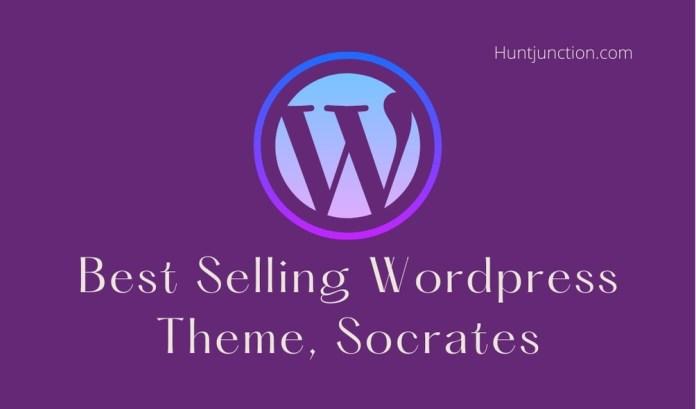Best Selling Wordpress Theme, Socrates USA 2021