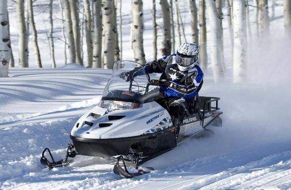 SnowMobile Polaris Wietetrak LX 500
