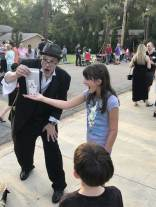 2018 HHNA Street Party. We had a magician!