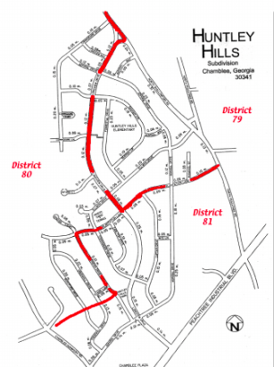 Huntley Hills State House District Map 79 80 81