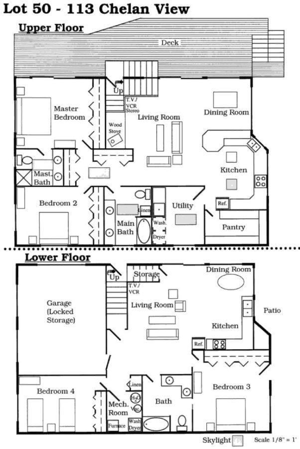 floor plan for lot 50