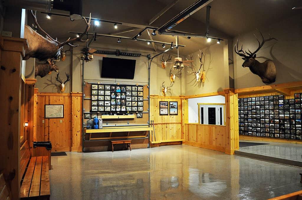 Hunters Trophy Room Ruggs Ranch
