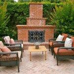 Outdoor Fireplaces Huntsville Brick Stone