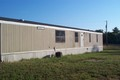 Back of Mobile Home