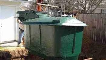 storm shelter install