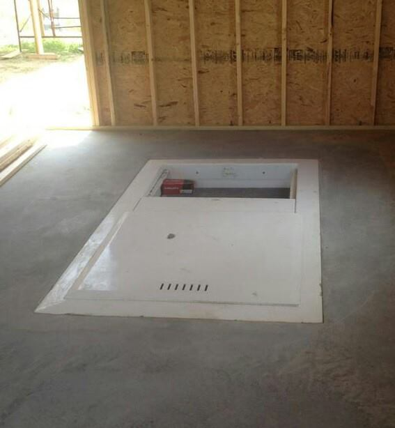 Lifeguard Underground Garage Storm Shelter Lifeguard Storm – Garage Floor Storm Shelter Plans