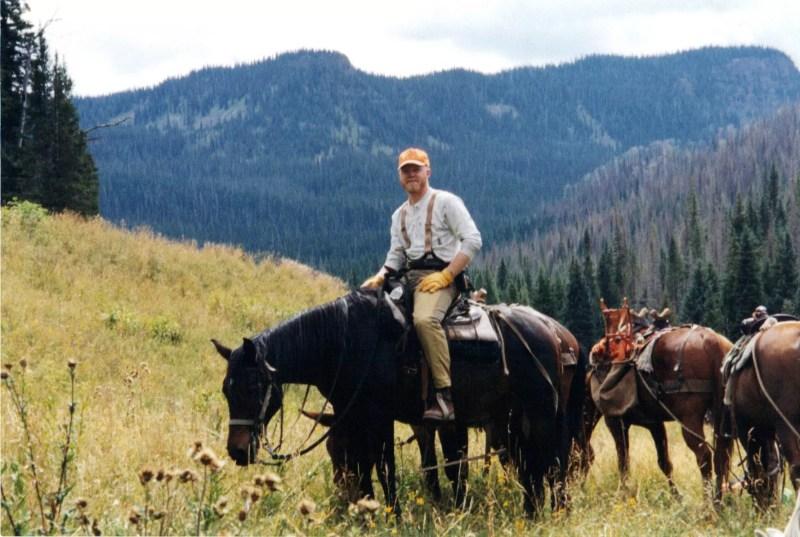 Elk Hunting by Horseback