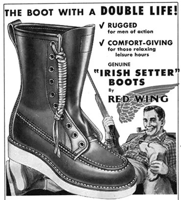 Irish Setter Hunting Boot
