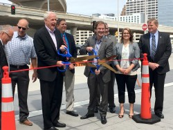 Hunzinger Celebrates Completion of the Lakefront Gateway Project