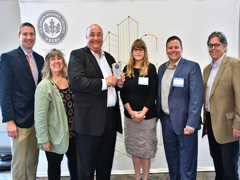 Frank Falsetti Wins USGBC's 'Most Successful Community Engagement' Award
