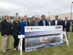 Zünd America Breaks Ground on New North American Headquarters