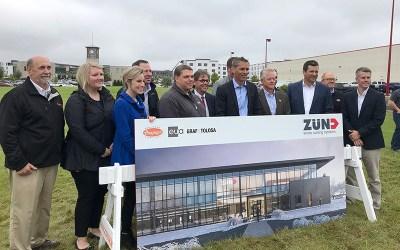 Zünd America Breaks Ground on New North American Headquarters