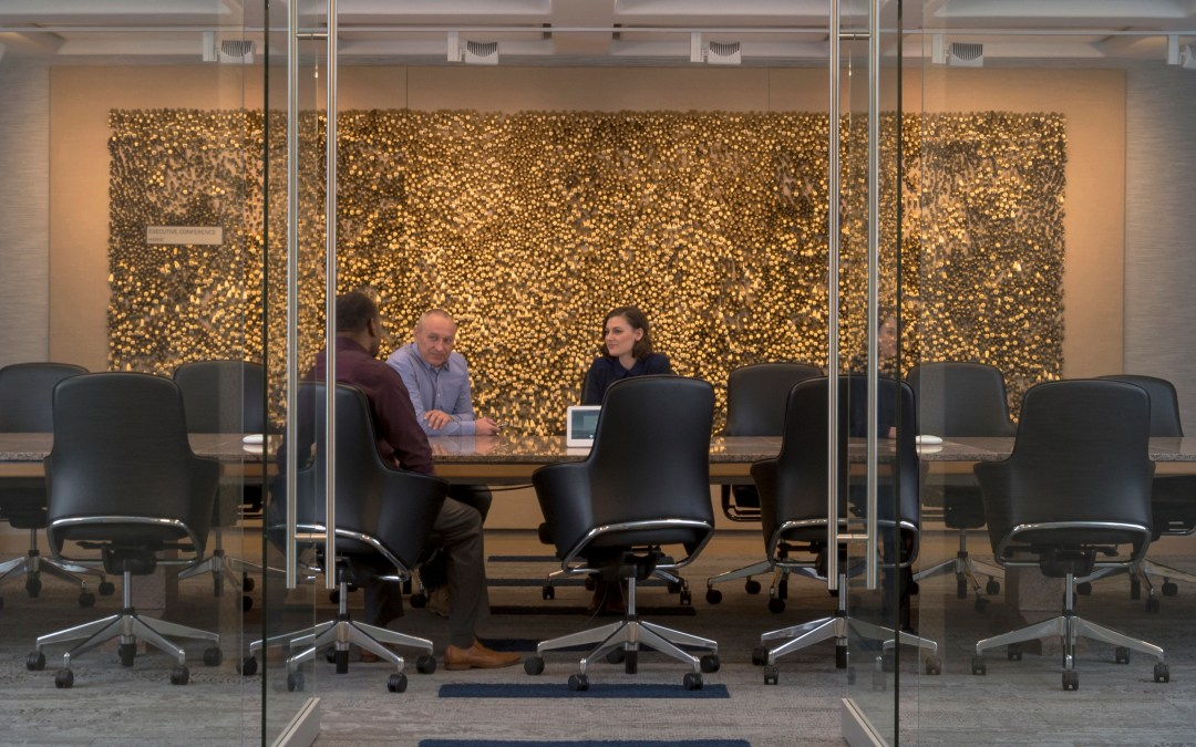 Hunzinger renovates MGIC Headquarters corporate interiors