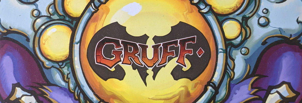 Gruff. A Two Player, Tactical Card Game of Crazy, Mutated, Madness