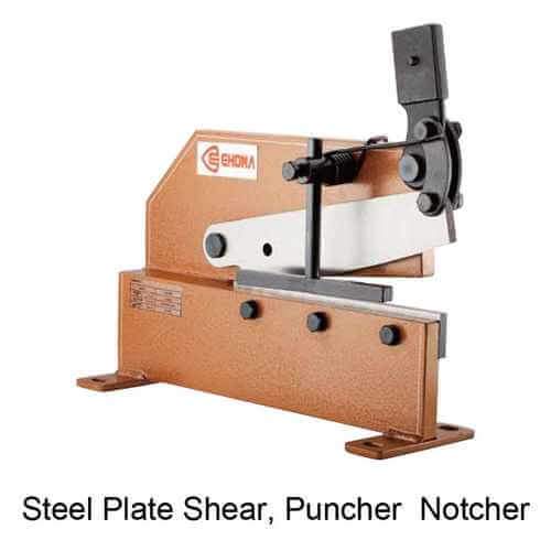Sheet Plate Shear, Puncher & Notch