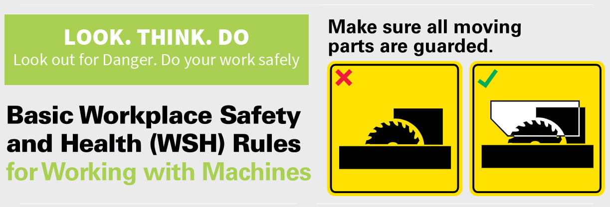 Go Home Safely, Prevent Injury with Safety Guards for Machines 2