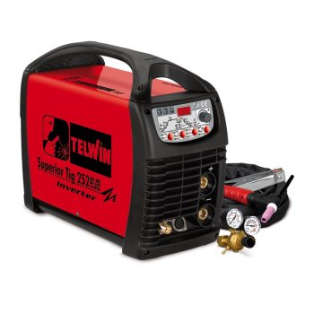SUPERIOR TIG 252AC/DC TIG, PULSE TIG and MMA Inverter welding machine