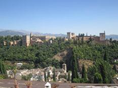 View from Albayzín