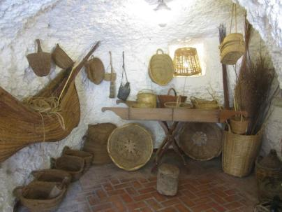 Basket-weaving Room in the Museo De Las Cuevas Del Sacromonte
