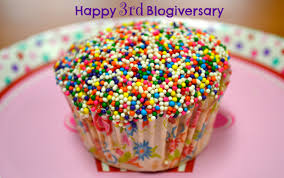 Three Year Blogiversary