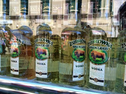 Polish Bison Grass Vodka