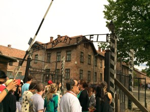 Front Gate at Auschwitz