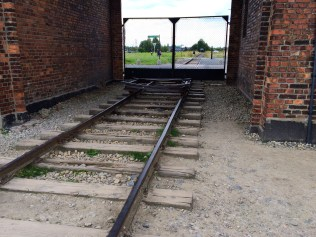 Railroad Leading to Auschwitz II-Birkenau