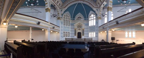 Restored Synagogue at Holocaust Memorial Center